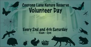 Costons Lane Nature Reserve Volunteer Event @ Costons Lane Nature Reserve